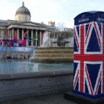 #Stop Press# Spotted on Thursday 6th Sept - a new BT Art Box in Trafalgar Square in preparation for the Olympic and Paralympic Heroes Parade on Monday 10th Sept