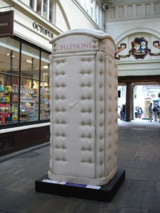 "You'd be mad not to like Bert Gilbert's ""Cellphone"" in Covent Garden (yes, I know - cheap gag)."