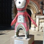 I'm afraid Mandeville has failed to look anything like the Archbishop of Canterbury here outside Lambeth Palace (the official London residence of His Grace). For a start, where's the beard?