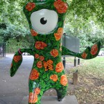Roses are red, Mandeville is (usually) blue. Can't wait 'til the Paralympics. TeamGB: proud of you! Regent's Park