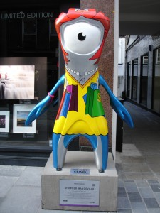 Shopper Mandeville giving Lily Savage a run for her money? (He really doesn't look good as a woman)