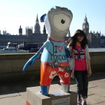 Guess which one of these tourists is Mandeville (and no, that doesn't mean the other figure is Wenlock)
