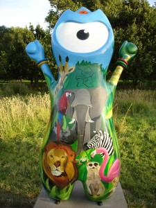 Who would have thought that underneath Wenlock's lovely, cute, cuddly exterior is a wild animal - or rather animals - raring to break out? Regent's Park