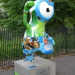 Wenlock here is covered in birds, and thankfully not their droppings. Regent's Park