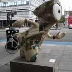It was the best of Wenlocks, it was the worst use of a Dickensian quote: Dickens Wenlock by Aldgate East tube station