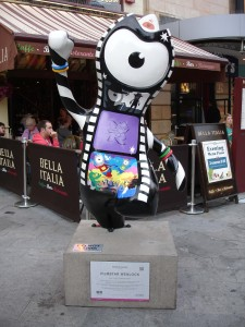 So Moviestar Wenlock, do you agree that Alfred Hitchcock's 'Vertigo' is now the greatest movie ever made? I'll take that as a 'yes'. Leicester Square