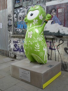 A breath of fresh air amongst all that graffiti along Brick Lane: Park Wenlock