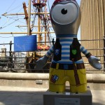 For some bizarre reason, whenever I see Pirate Wenlock by St Mary Overie Dock, the song 'Come On Eileen' by Dexy's Midnight Runners always pops into my head