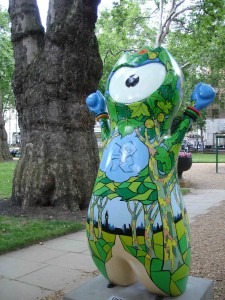 Plane Trees Wenlock impersonating the great Berkeley Square tree behind him rather well