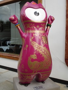 Beautiful Sari Wenlock hidden away down Hopetown Street, just off Brick Lane (so is Wenlock a girl then?)