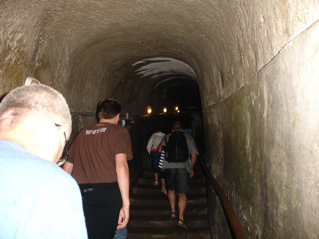 One of the many narrow passageways in the Sotterranea. The deeper one went the narrower the passageways got