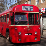 The arrival of the RF212 to Muswell Hill earlier today. Only 60 years and 10 minutes late