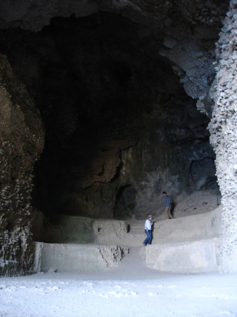 Inside the Grotta di Matermania