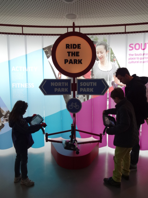 This interactive exhibit appeared more relevant and promised to be fun ...