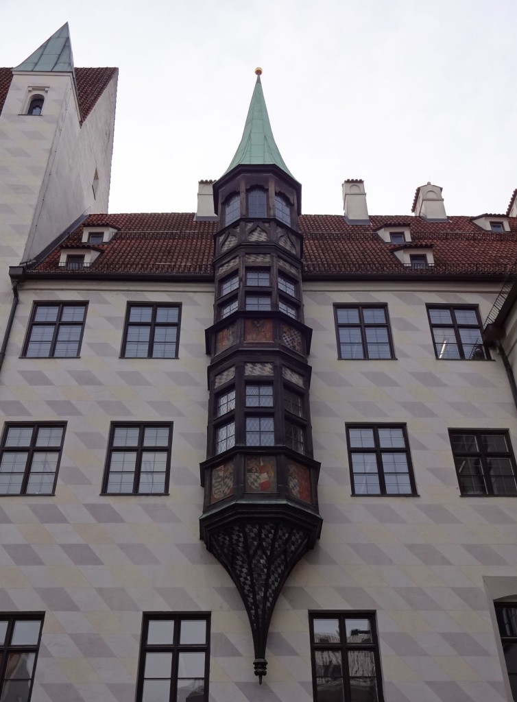 The 'Monkey Tower' as it is more commonly known, was apparently the sight of a royal kidnapping; a monkey belonging to the Court snatched the young Ludwig IV and carried him off up to the top of this window where the two sat for several hours before the monkey was lured back down and the baby was saved from harm. Another version of this bizarre tale suggests the monkey was actually saving the child from a wild pig