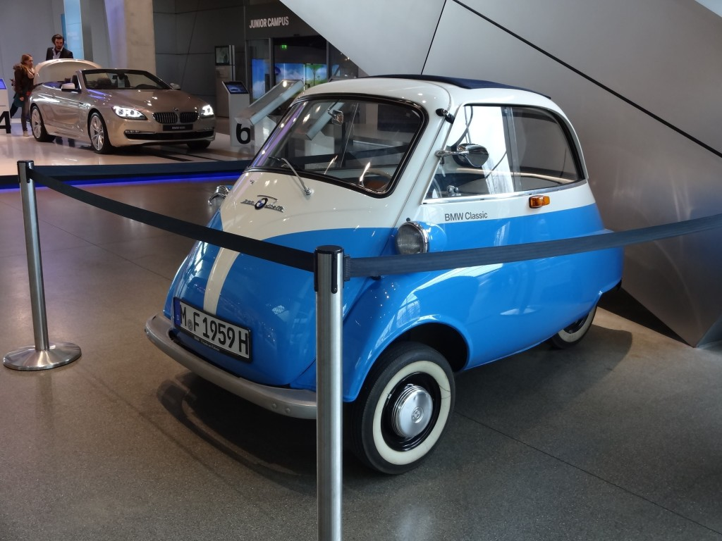 Out of all the high tech BMWs on show at the Welt, this one took my fancy