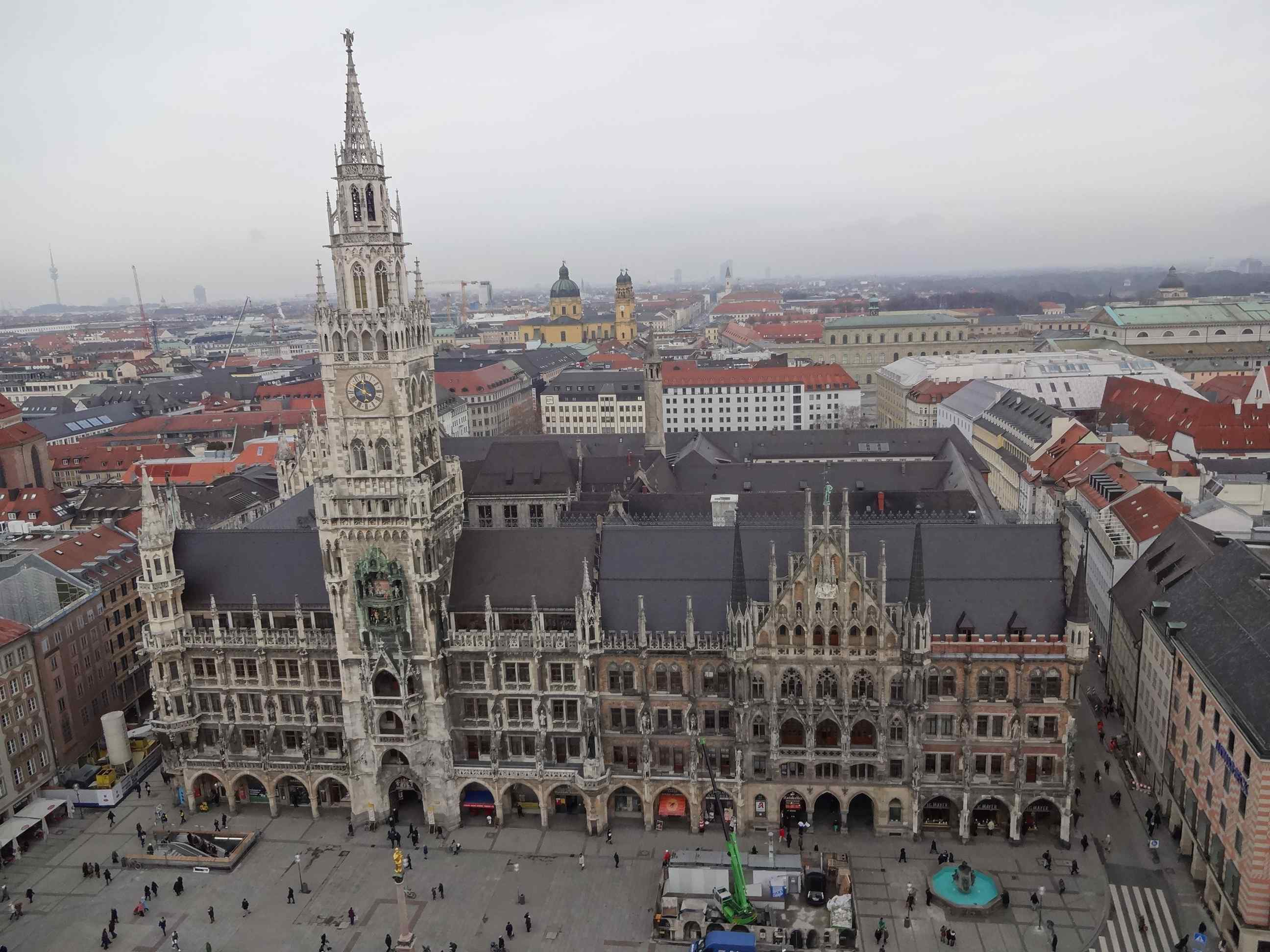 Image result for Munich Neues Rathaus
