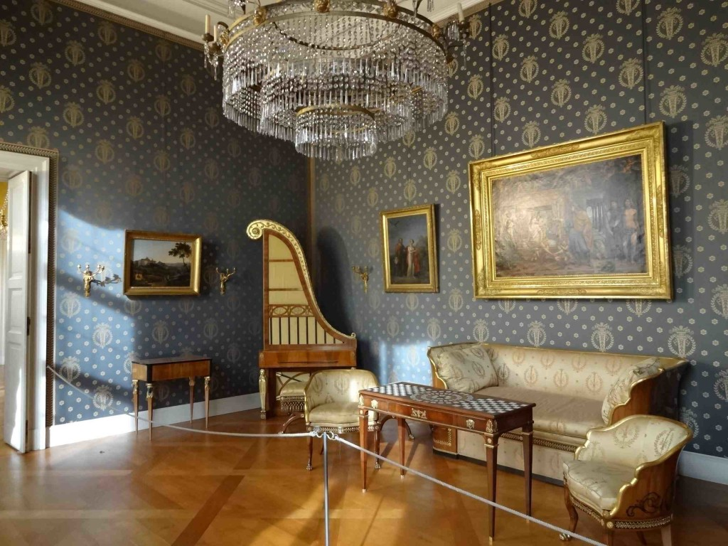 Very little of the Residenz escaped unscathed from the bombings of World War II, so most of what it now open to the public has been lovingly restored and replicated using articles from other, less shell-damaged Bavarian palaces