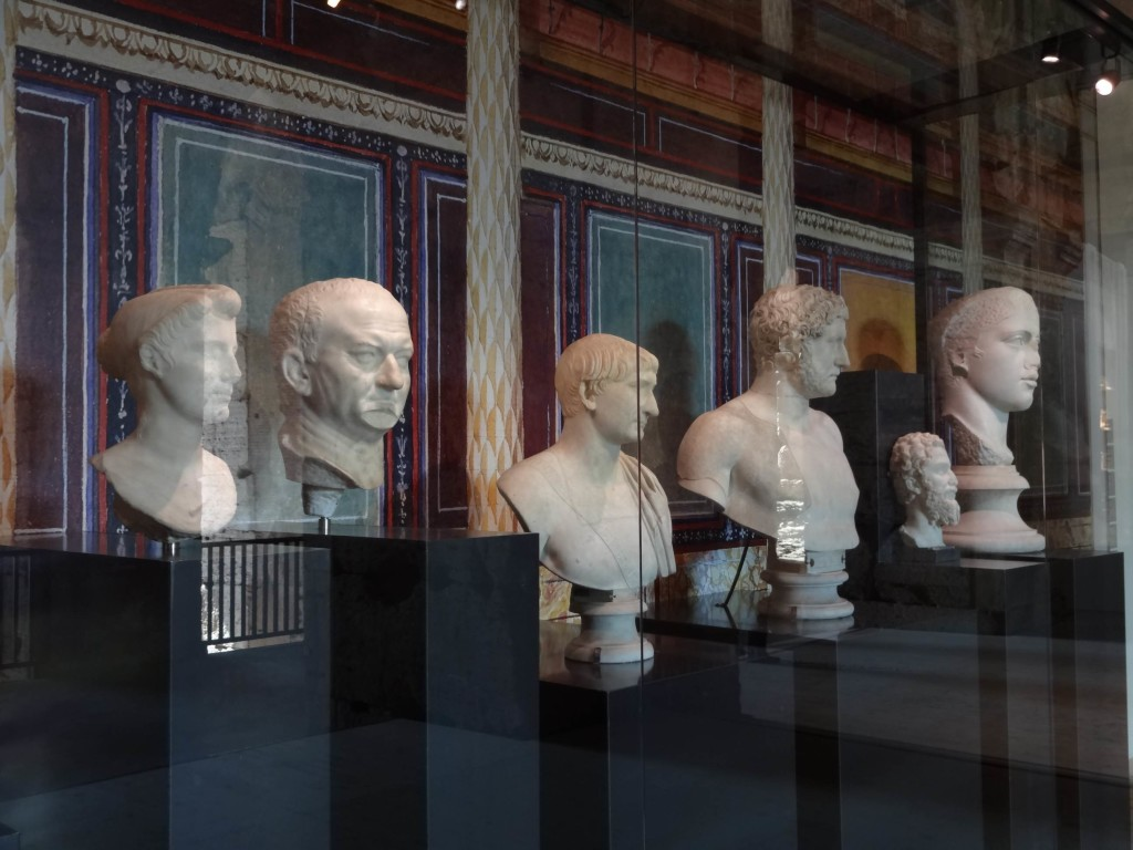 ... and some beautifully preserved busts, some of which look rather familiar