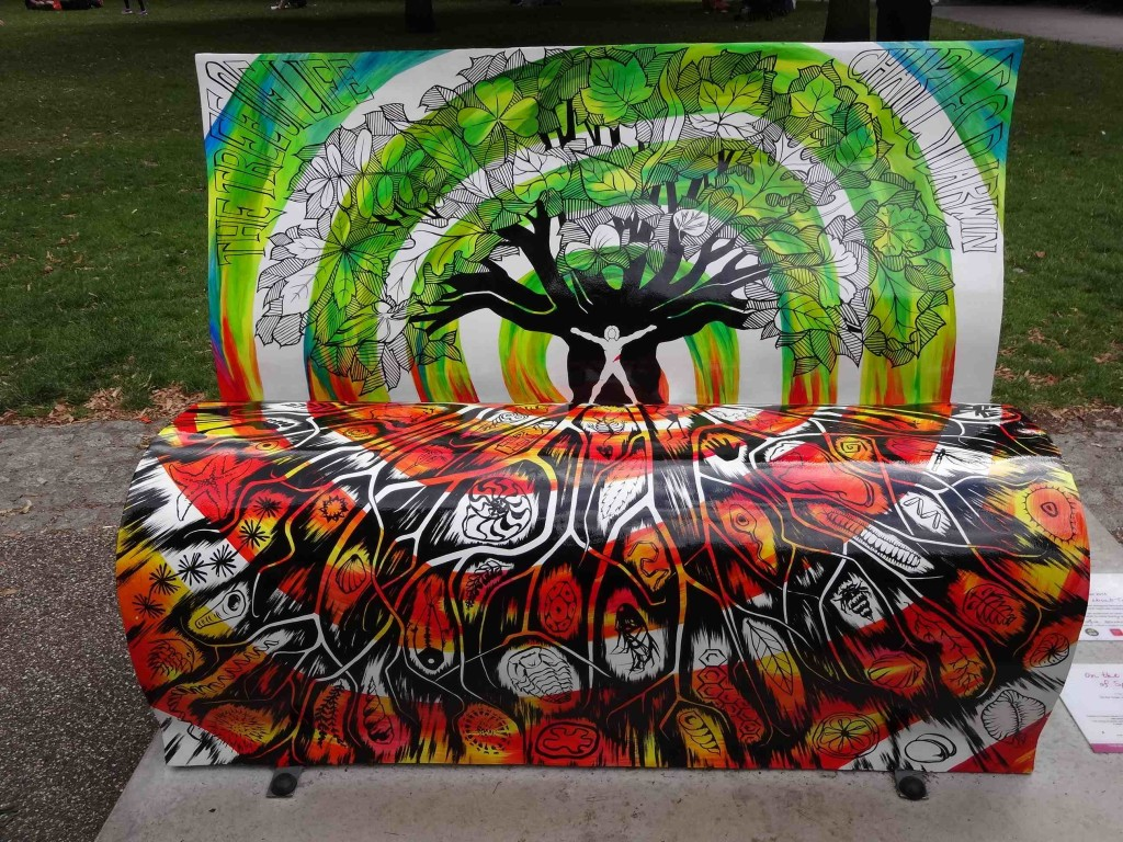 The bookbench of life