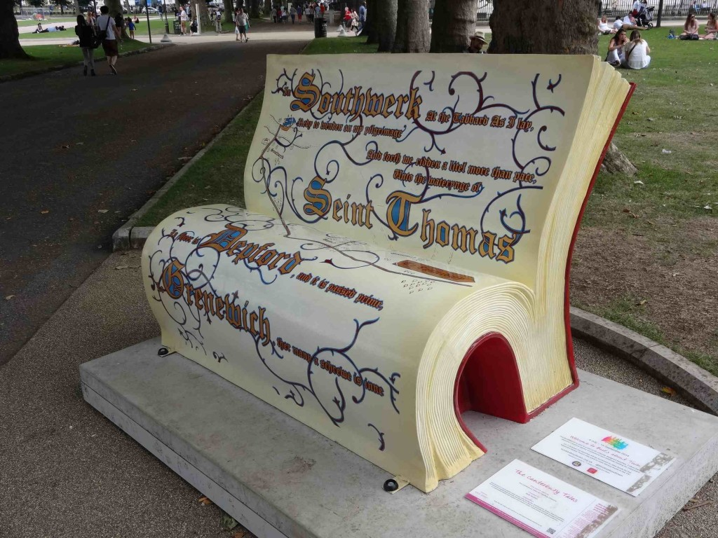 The lyf of a bookbench so short before it is auctioned off in October, the craft of creating one so long to learn