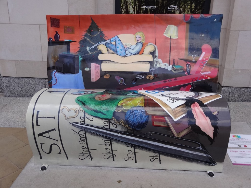 Bookbench, I like you very much, just as you are