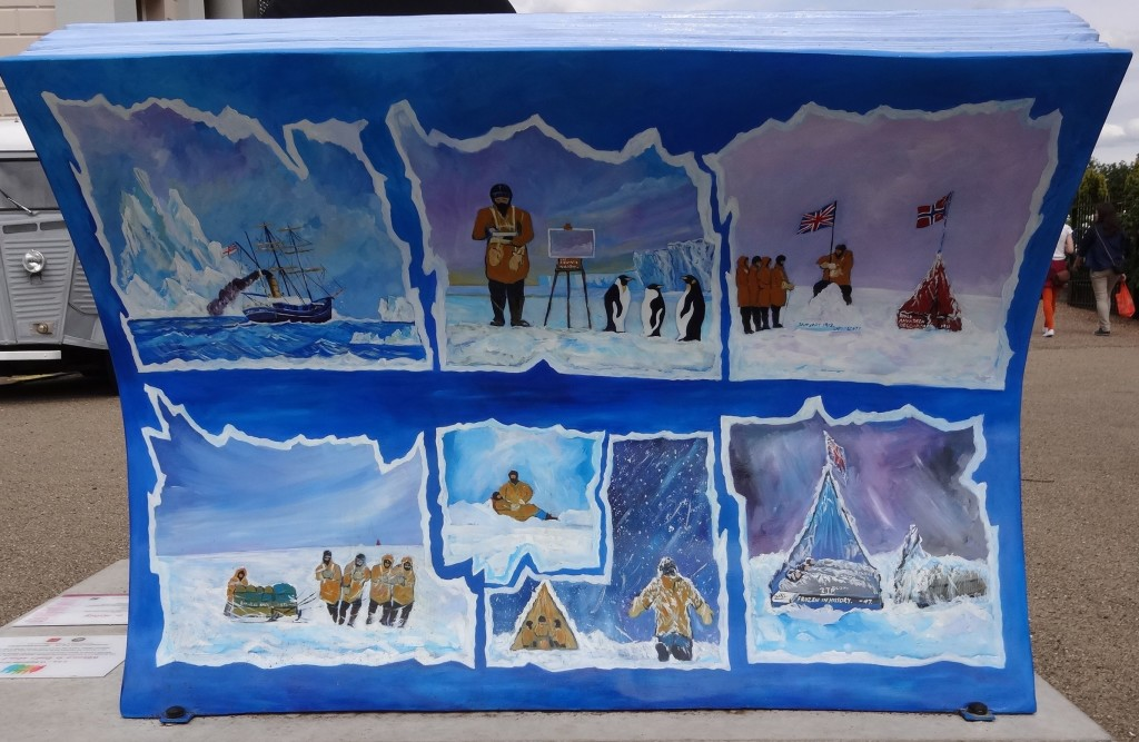 Books About Town 2014 Robert Falcon Scott Journals Captain Scott's Last Expedition Charles Bezzina Frozen in History back