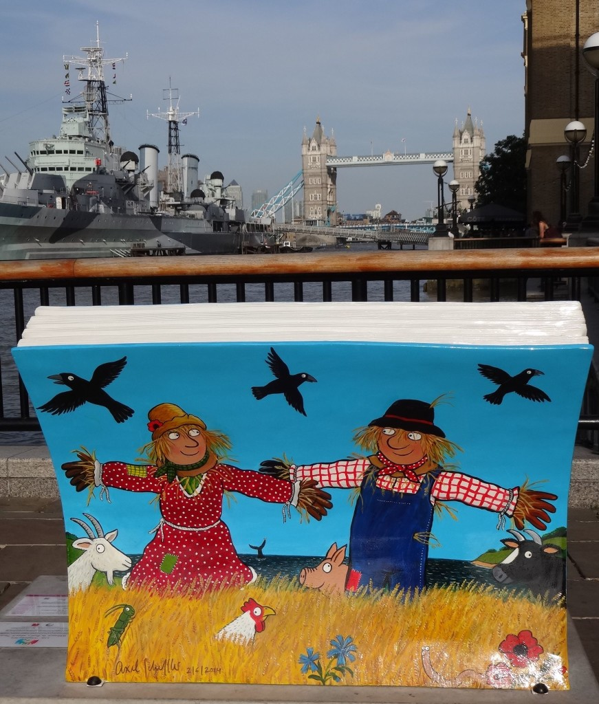 So it's not just Beefeaters keeping an eye on the ravens by the Tower of London these days