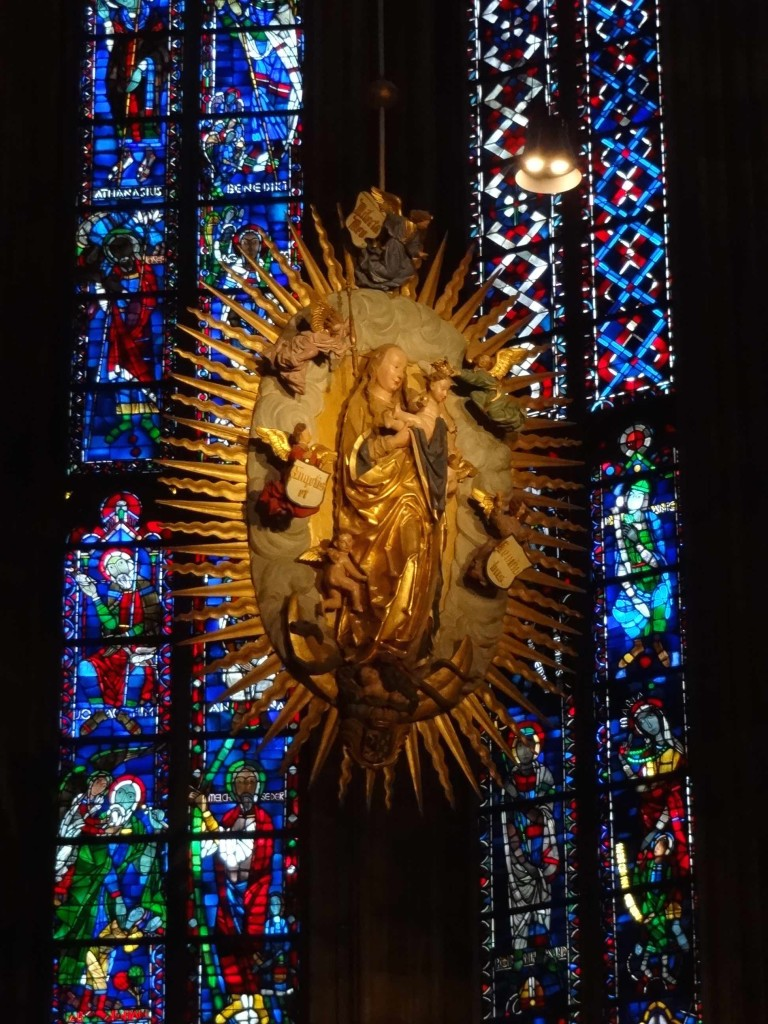 Aachen Cathedral, Madonna