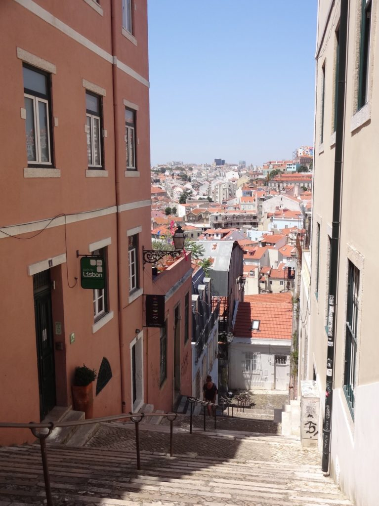 Testing Hypermetropia: one of many views over the city as seen along the streets of Alfama and Graça