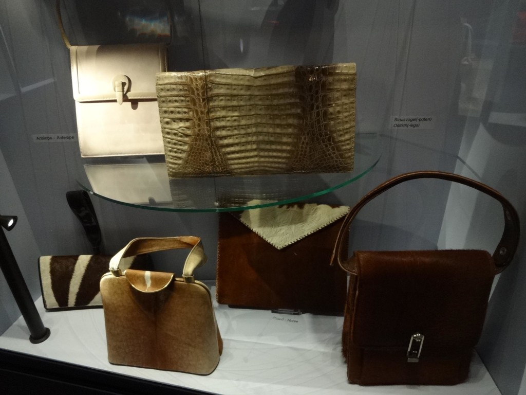 ... from horse skin, ostrich skin and antelope. It's a handbag safari!