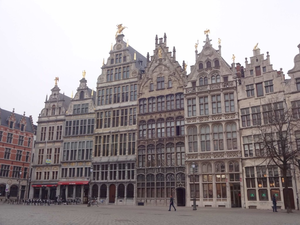 The Guildhalls along Grote Markt