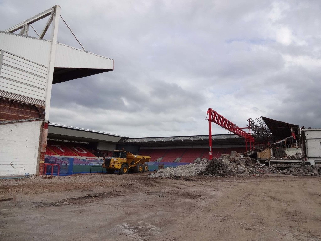 It may be some time before Bristol City FC play here again