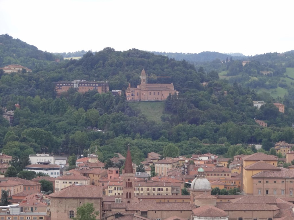 San Michele in Bosco, seen from Bologna's city centre
