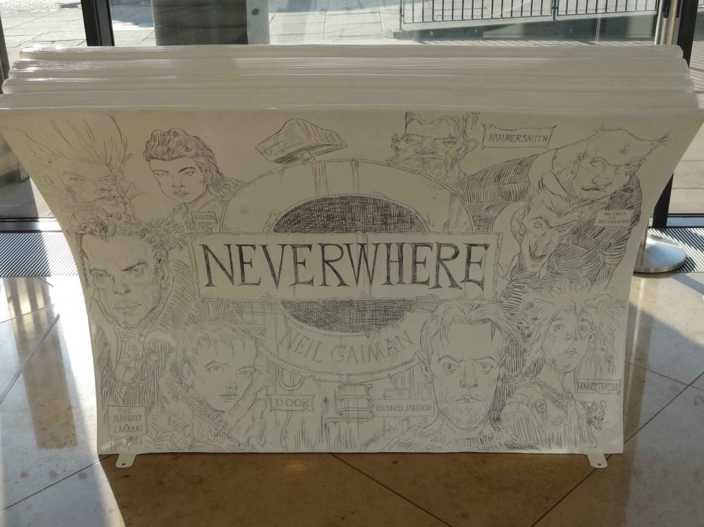 I searched everywhere in London for Neverwhere. Finally ...