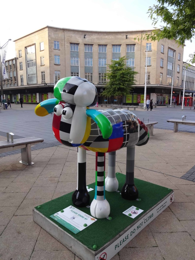 Bristol Shaun in the City, Old City trail, Please Stand By, Timmy Willmoll, John James Bristol Foundation, The Broadmead Podium