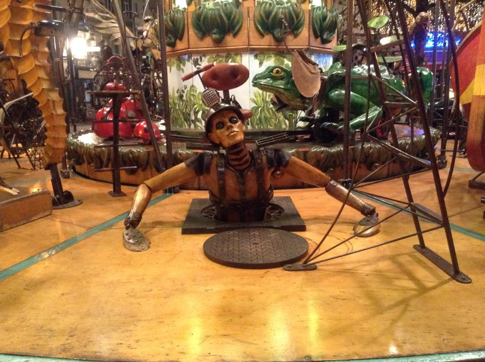 The stuff of nightmares. No wonder there were hardly any other children riding this carousel all night