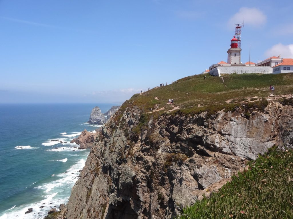 Stunning rugged cliffs looking north(east) from Cabo da Roca