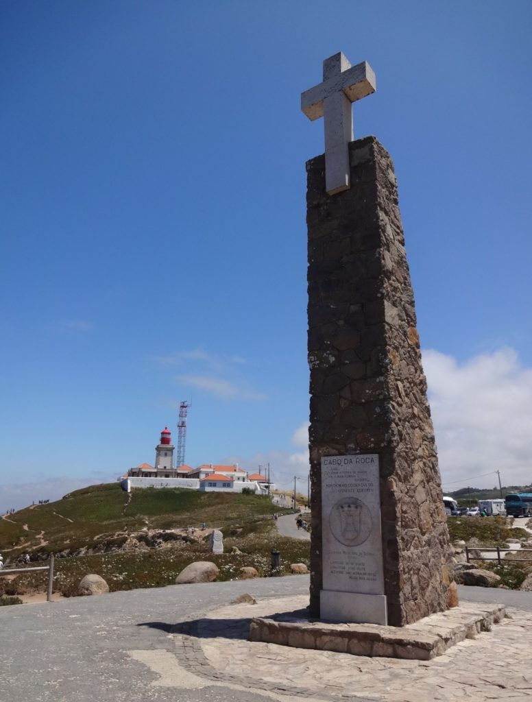 Marking the end of Europe? The most westerly point of the European mainland marked by this monument
