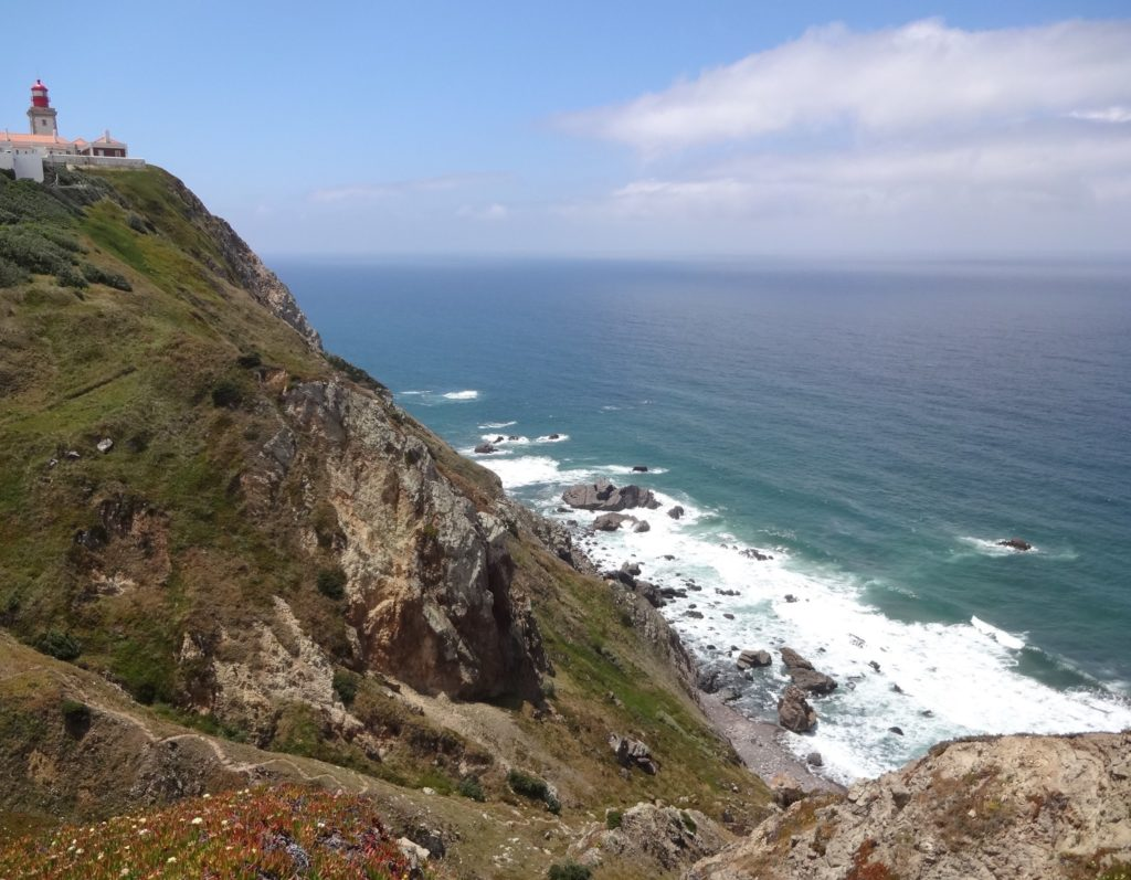 Looking south(west) back towards Cabo da Roca