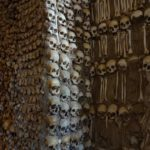 Some sources say the chapel was created by local Franciscan monks to remind people to celebrate 'the bare bones' of life rather than just the material aspects of it