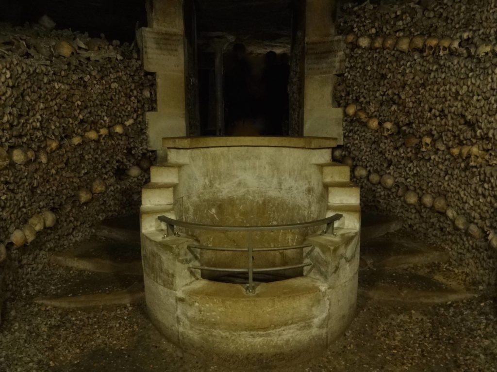 The Fountain of Lethe, later renamed the Fountain of the Samaritan, was discovered by quarry workers at the end of the eighteenth century and was restored around 1810 when remains began to be laid here
