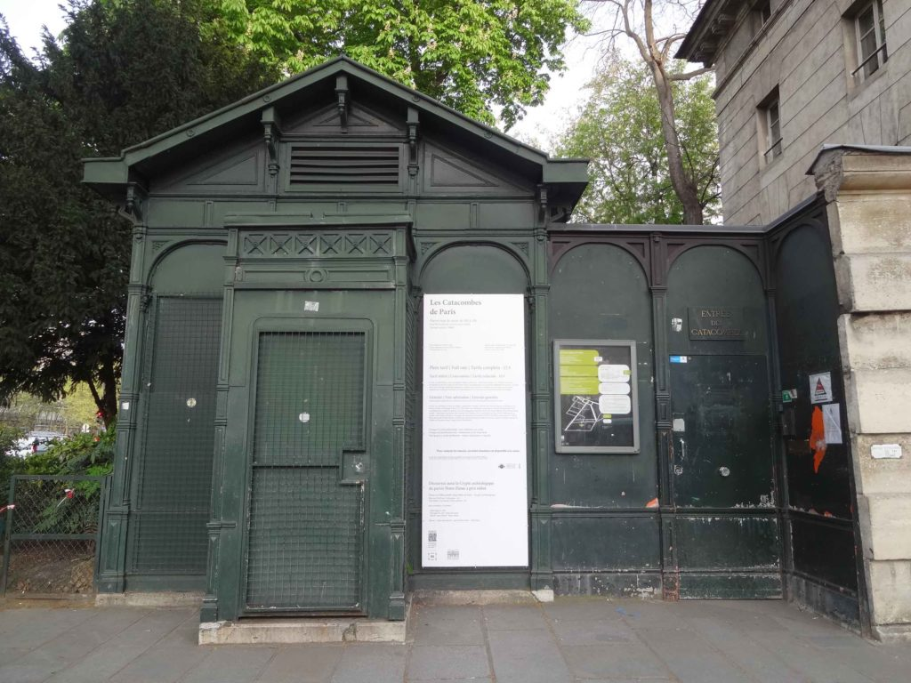 Over six million Parisians - albeit dead - lie underneath this shelter, three times as many as live alongside it