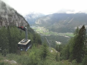 The Dachstein-Krippenstein cable car