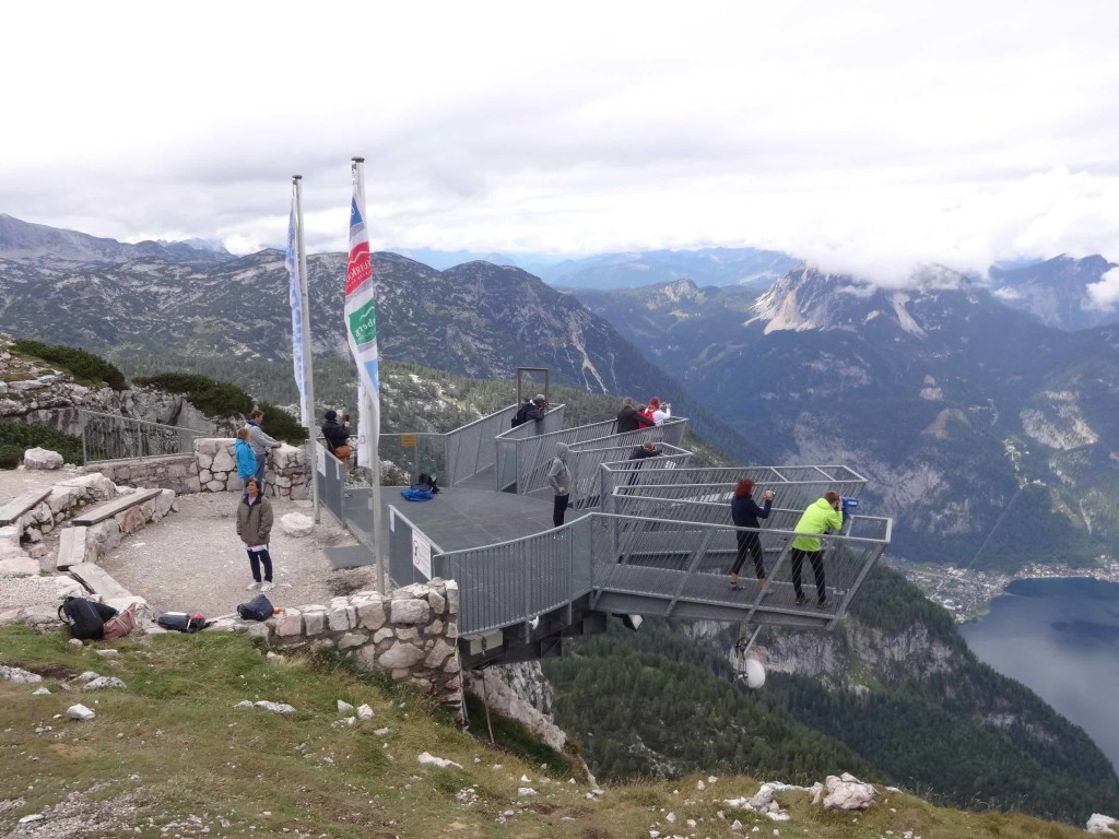The 5fingers viewing platform jutting out from the mountain edge