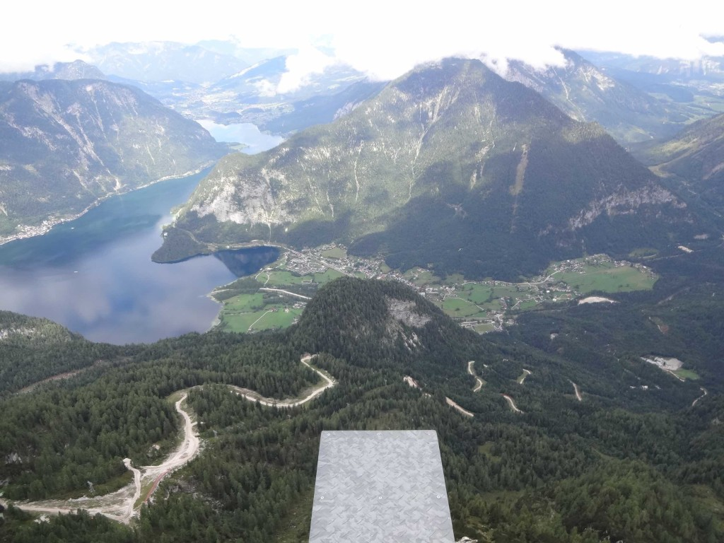 Dachstein Salzkammergut, Krippenstein Five Fingers viewing platform, view from middle finger