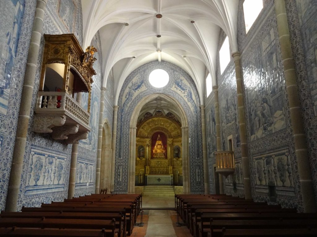 The stunning azulejos of the Church of Saint John the Evangelist