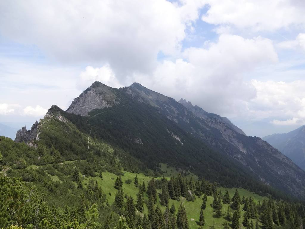 The Tree Sisters (Drei Schwestern). Local legend has it that the Virgin Mary turned three young sisters into the peaks of this mountain after they refused to honour her feast day choosing to pick berries instead. Rather harsh