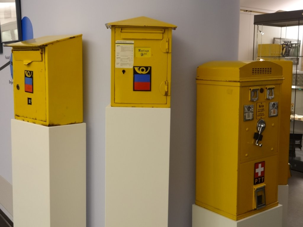 ... and a fine array of post boxes