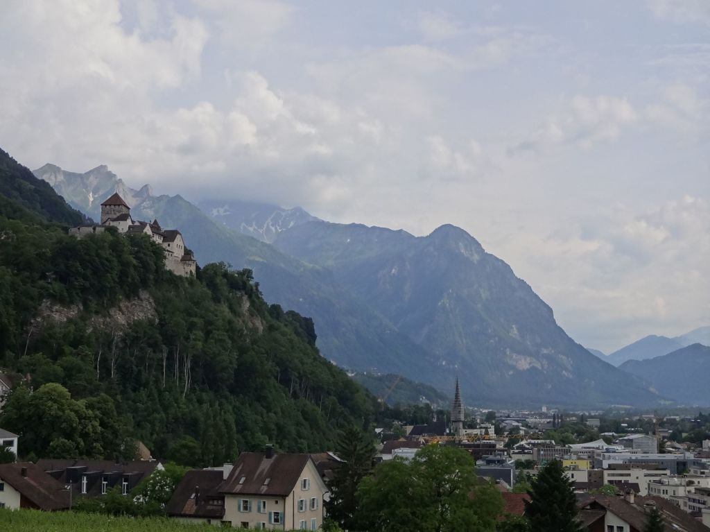 Vaduz, the capital city of the sixth smallest country in the world with the sixth longest country name